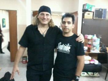 Con Hugo Bistolfi